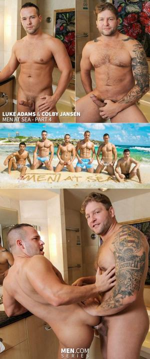 GodsofMen – Men At Sea – Part 4 – Colby Jansen & Luke Adams – Men.com