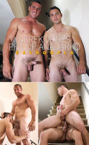 GayHoopla – Derek Jones bangs Phillip Anadarko