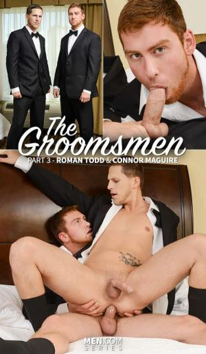 Str8toGay – The Groomsmen, Part 3 – Connor Maguire fucks Roman Todd – Men.com