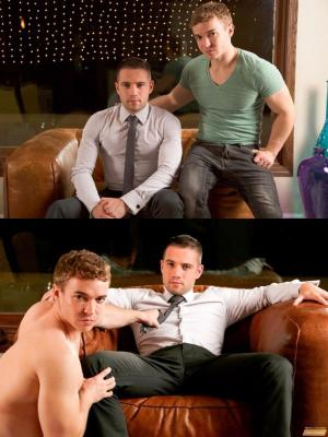 NextDoorBuddies – Big Dick Business – Dylan Knight & Gabriel Cross