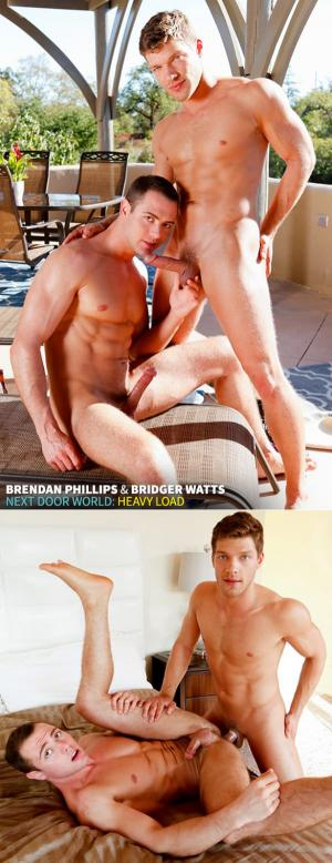 NextDoorBuddies – Heavy Load – Bridger Watts & Brendan Phillips