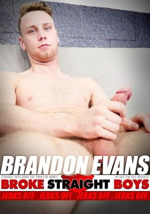 BrokeStraightBoys – Brandon Evans Jerks Off – Solo