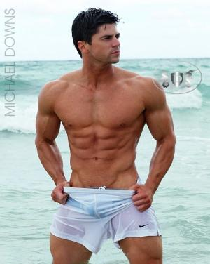 AllAmericanGuys – Fitness model Nick M in Miami Beach