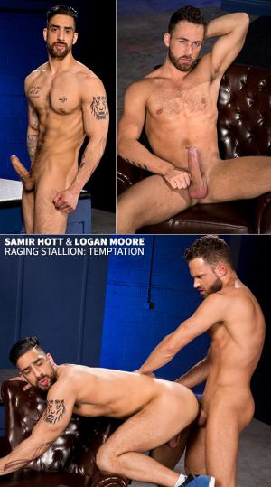 RagingStallion – Temptation – Logan Moore bangs Samir Hott