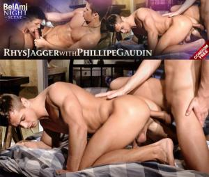 Belamionline – Belami Night Scene – Rhys Jagger With Phillipe Gaudin – bareback