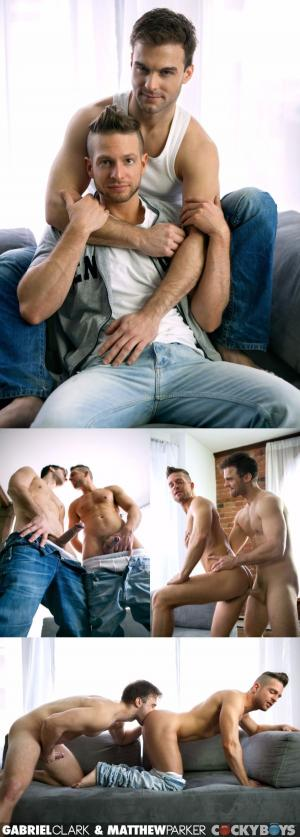 CockyBoys – Gabriel Clark Drills Matthew Parker