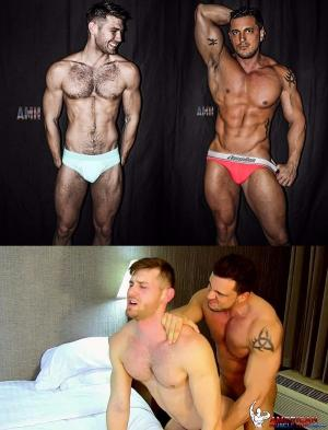 AmericanMuscleHunks – Joey D & Jacob Peterson