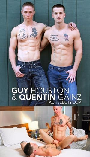 ActiveDuty – Guy Houston & Quentin Gainz – Bareback