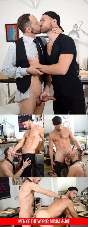 AlphaMales – Men Of The World – Misha Dante & Joe Bexter