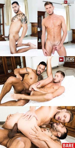 LucasEntertainment – Viktor Rom Dominates Vlad Larin's Mouth And Butt – Bareback – Lucas Men 2.0