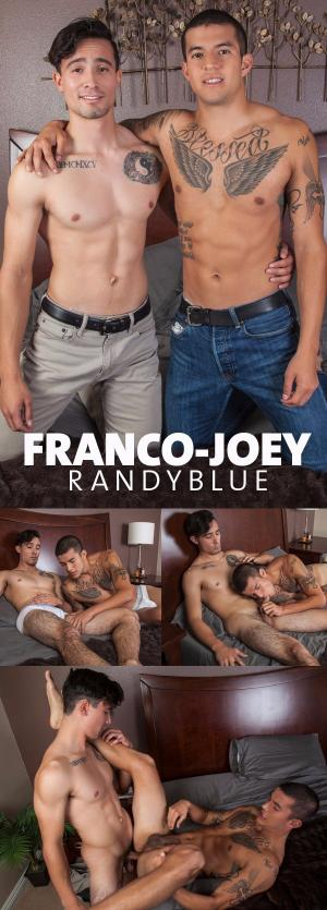 RandyBlue – Franco Duran Barebacks Joey Rico