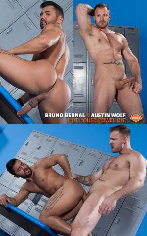 HotHouse – Towel Off – Austin Wolf & Bruno Bernal