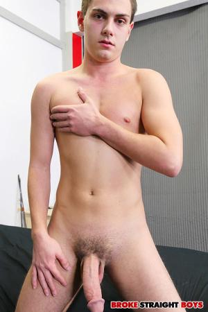 BrokeStraightBoys – Tyler Griffin Jerks Off