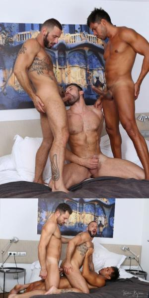 KristenBjorn – In The Flesh, Sc. 8 – James Castle, Ansony & Antonio Miracle – Bareback