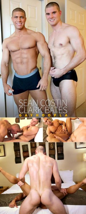 GayHoopla – Clark Bates pounds Sean Costin