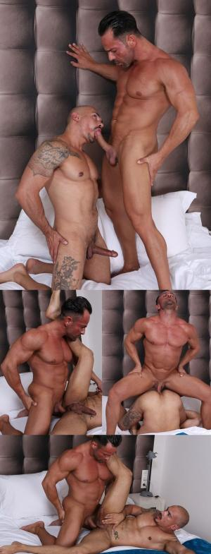 KristenBjorn – Meat Men: At Ease – Alex Brando & Santi Noguera – Bareback