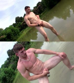 BoysPissing – Elijah Knight Outdoor Piss