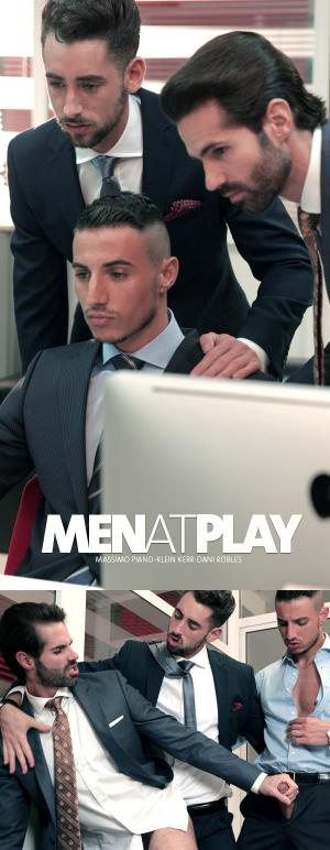 MenAtPlay –  …And Thensome – Klein Kerr, Dani Robles & Massimo Piano
