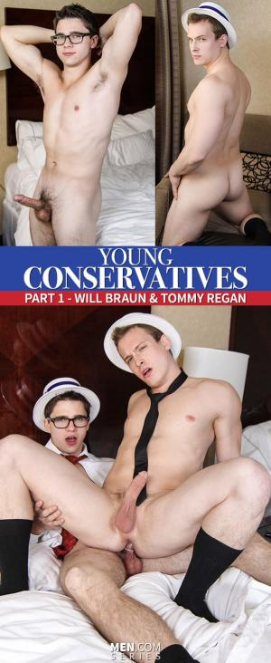 Drill My Hole – Young Conservatives Part 1 – Tommy Regan & Will Braun – Men.com