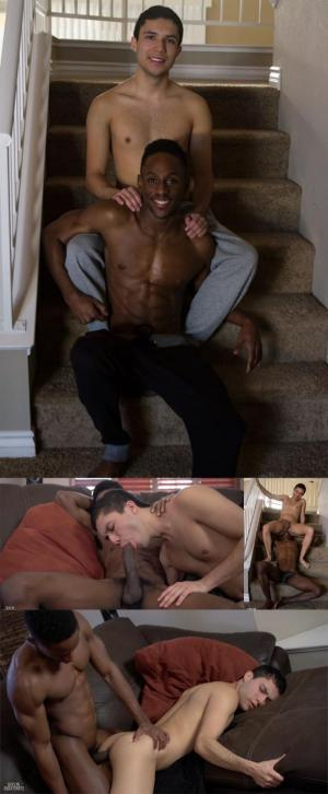 GuysInSweatPants – Augustine takes not one, but TWO loads! – Augustine Mayor & Liam Cyber – Bareback