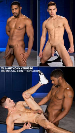 RagingStallion – Temptation – XL bangs Anthony Verusso