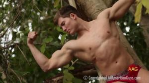 AllAmericanGuys – Alex, sexy in the tree