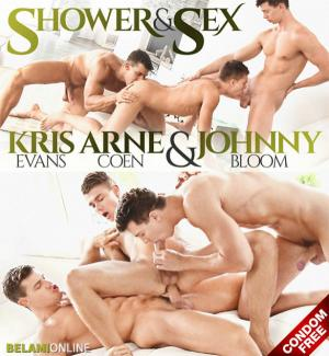 BelAmiOnline – Arne Coen gets fucked raw by Kris Evans & Johnny Bloom