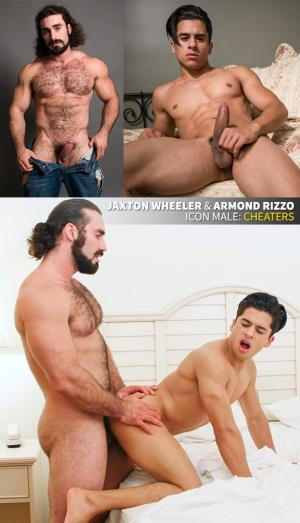 IconMale – Cheaters – Armond Rizzo gets pounded by Jaxton Wheeler