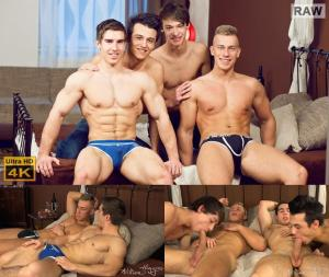 WilliamHiggins – Wank Party 2016 #02, Part 1 RAW – WANK PARTY – Bradley Cook, Erik Drda, Petr Cernyka & Petr Plodner