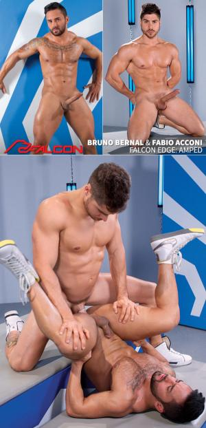 FalconStudios – Amped – Fabio Acconi bangs Bruno Bernal