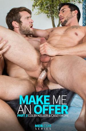 DrillMyHole – Make Me an Offer, Part 3 – Colby Keller fucks Casey More – Men.com