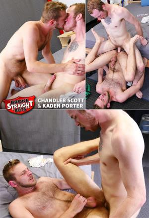 BrokeStraightBoys – Kaden Porter barebacks Chandler Scott