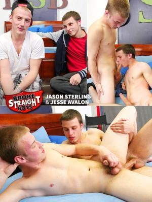 BrokeStraightBoys – Jesse Avalon fucks Jason Sterling raw