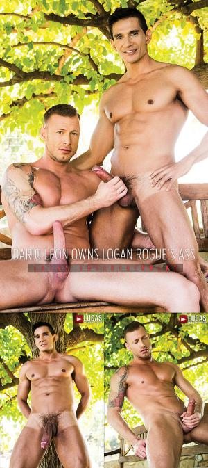 LucasEntertainment – Dario Leon Owns Logan Rogue's Ass