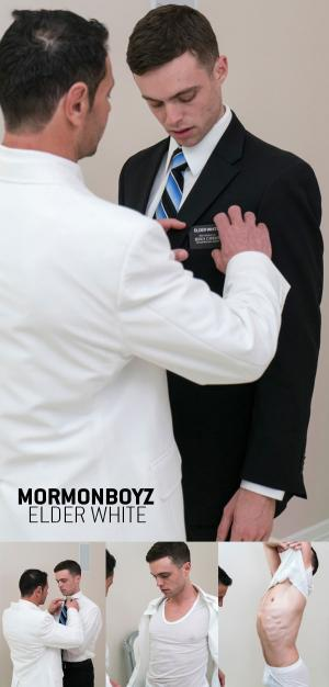 MormonBoyz – Elder White – ORDINATION – Bareback