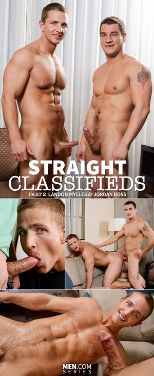 Str8toGay – Straight Classifieds, Part 2 – Jordan Boss bangs Landon Mycles – Men.com