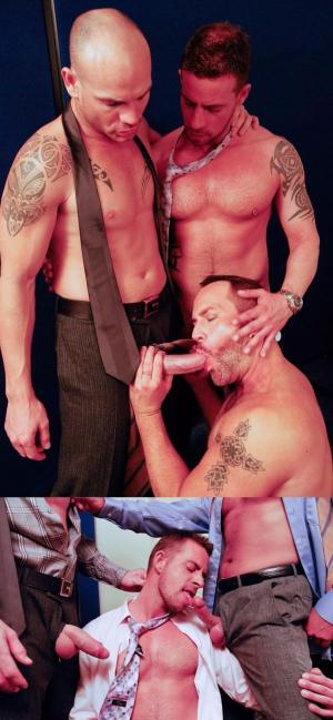 AlphaMales – Suited Threesome! – Jake Ryder, Kurt Rogers & Matthew Ford