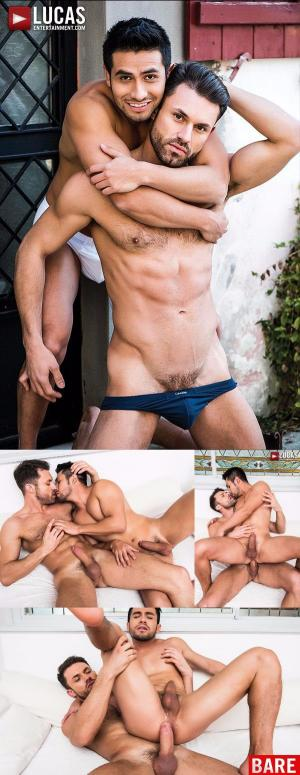 LucasEntertainment – James Castle Gets A Taste of Derek Allan's Mexican Spunk – Bareback
