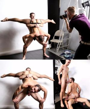 ExtraBigDicks – Acrobatic Menage – Braxton Smith, Luke Wilde & Dylan Knight