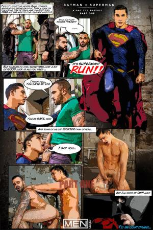Drill My Hole – Batman Vs. Superman Part 1 – Topher Dimaggio & Damien Crosse – Men.com