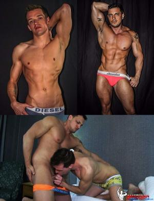 AmericanMuscleHunks – Joey D & Derek Cross