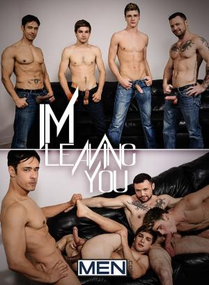 JizzOrgy – I'm Leaving You Part 5 – Johnny Rapid, Travis Stevens, Rafael Alencar & Sergeant Miles – Men.com