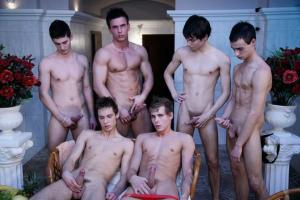 Staxus – Coming Out Scene 1 – Nicol Cabiria, Dale Cole, John Paul, David Wallet, Frederico Weiss, Julien Breeze & Jay Couple