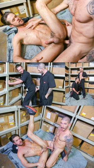 MenOver30 – Screwing My Warehouse Buddy – Mike De Marko & Johnny Hazzard