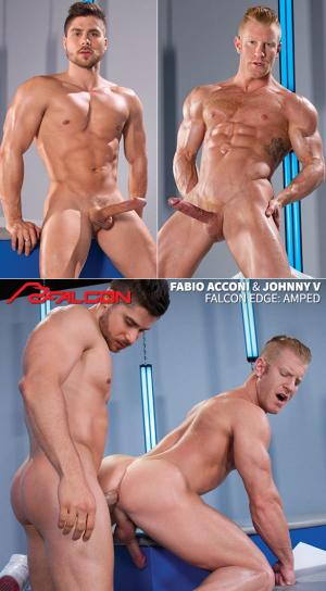 FalconStudios – Amped – Fabio Acconi bangs Johnny V