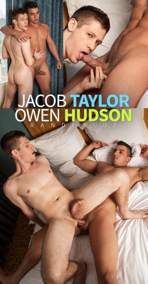 RandyBlue – Owen Hudson gives Jacob Taylor some serious muscle worship – Bareback