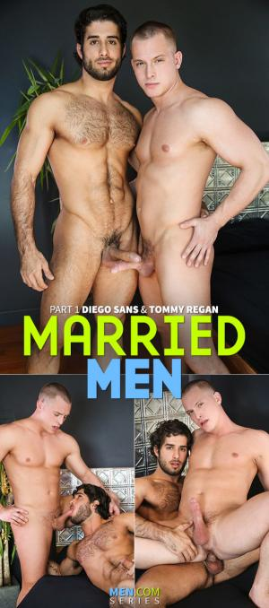 Str8toGay – Married Men, Part 1 – Diego Sans bangs Tommy Regan – Men.com