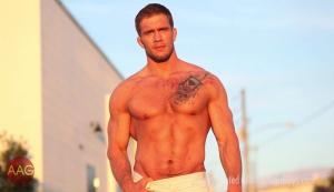 AllAmericanGuys – Davin, interview and sexy footage