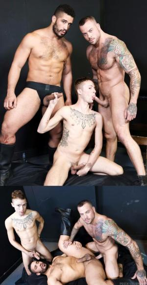 ExtraBigDicks – The Big Dick Club Part 2 – Trey Turner, Sean Duran & Sean Christopher