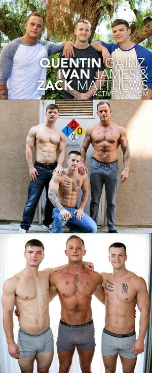 ActiveDuty – Quentin Gainz , Ivan James & Zack Matthews
